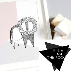 Established in 2016 in Oxfordshire, Ella and The Roo is a design-led business creating illustrative paper and fabric goods, including nursery art prints and 'make your own' fabric animal kits.