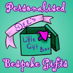"At ""Dee's Little Gift Box"" we offer personalised hand-made taggy blankets, blankets, bibs, toys,items made of your loved ones old clothes and more!"