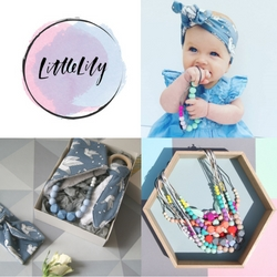 Stylish Teething Jewellery and Baby accessories.   Our BPA free Silicone jewellery is practical, safe and soothing for baby and stylish for Mama. We work with each season's Key colours so that they work with your wardrobe and allow you to co-ordinate with your little one.