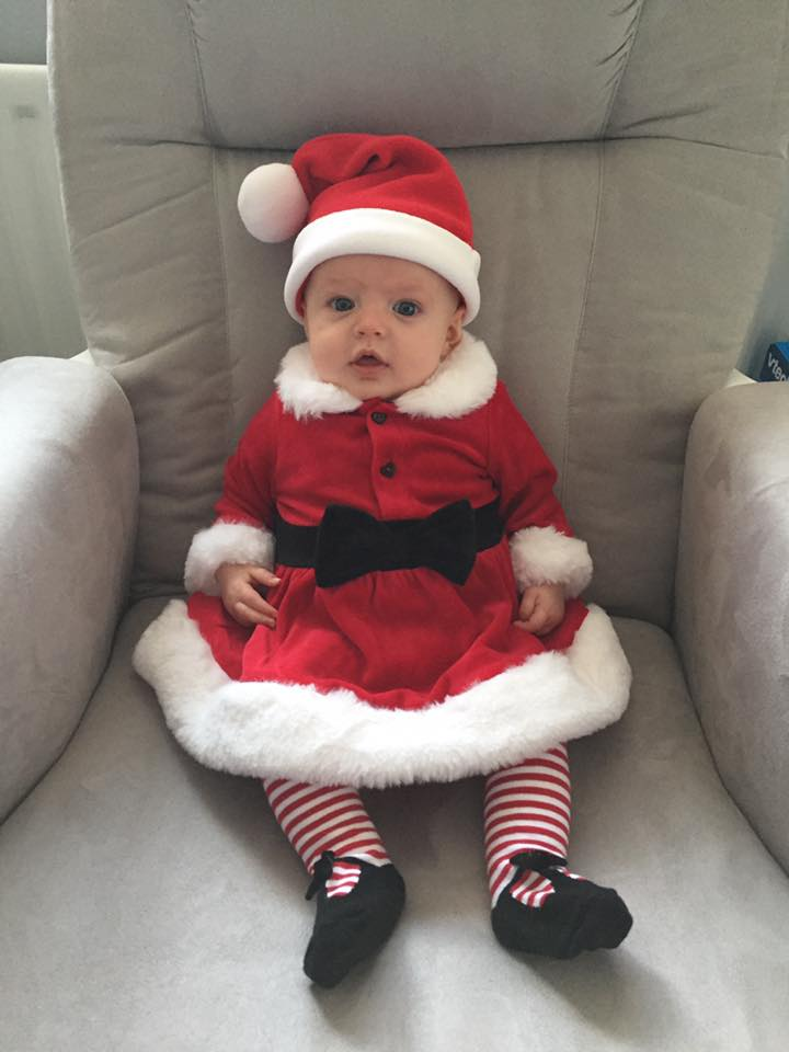 This Mrs Christmas is beyond cute! Sent to us by Chloe Rowntree