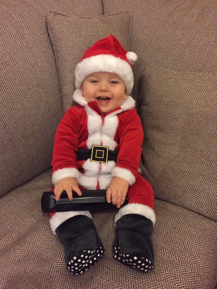 Ho ho ho how cute is this Santa sent in by Michelle Wright!