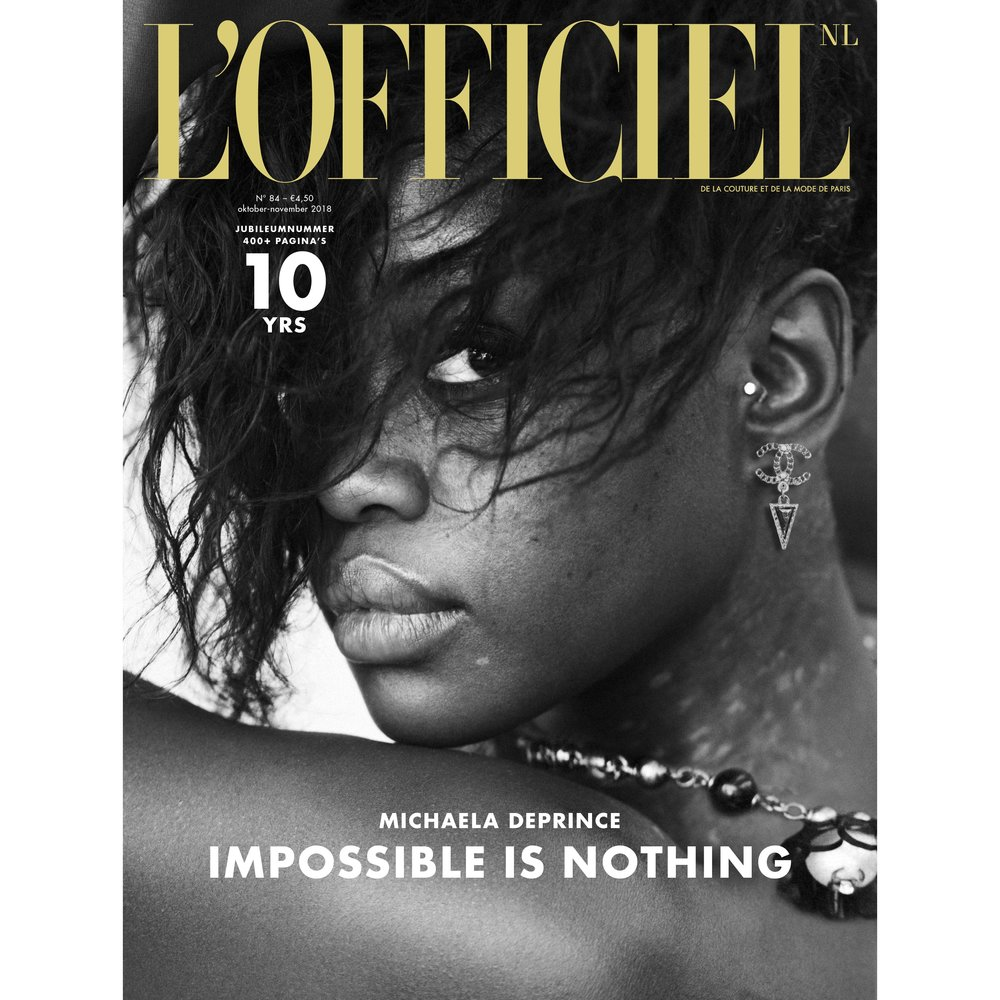 Cover 10th Anniversary of L'Officiel NL