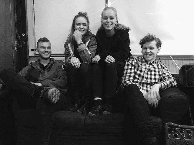And who's there? These are our wonderful musicians from Körrent band! #lúr #lúrfestival #lurfestival2016 #livemusic