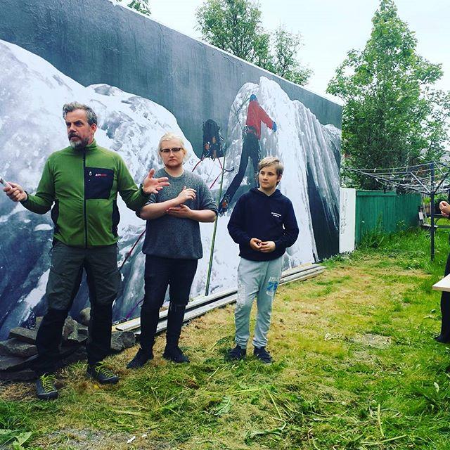 Opnun á vegglistasmiðju #lurfestival2016 #lúrari #streetart #streetarteverywhere #LÚR