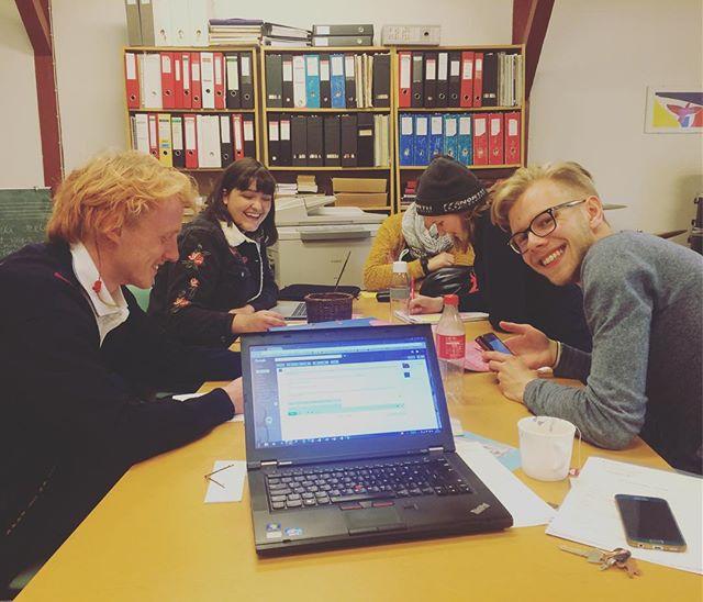 LÚR teymið fundar fyrkr komandi hátíð! #hardwork #lurfestival #planing