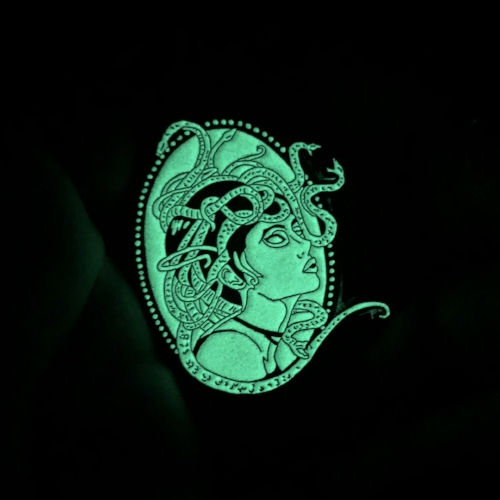Gorgeous glowing Medusa by  K. Tully