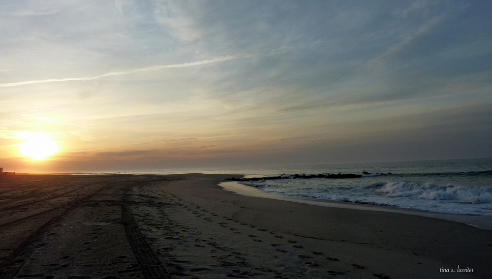 sunrise on cape may