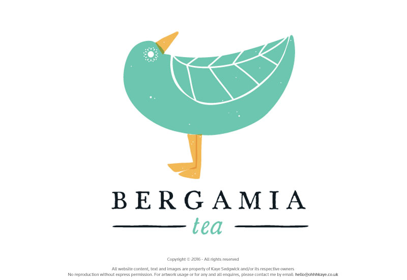 OhhhKaye Branding and Logo Design Bergamia Tea