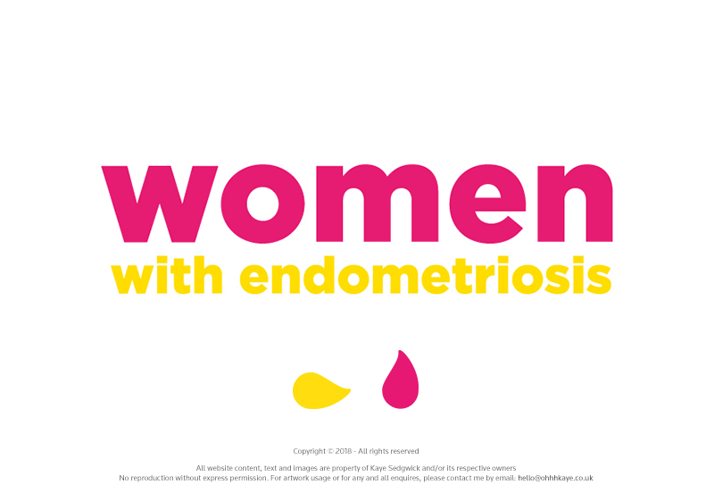 OhhhKaye Branding and Logo Design Women with Endometriosis