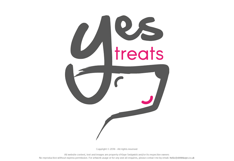 OhhhKaye Branding and Logo Design Yes Treats