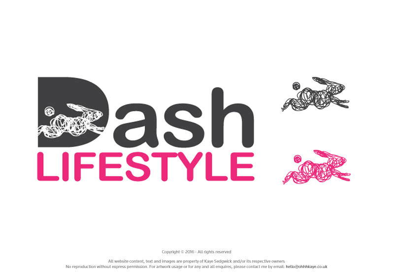 OhhhKaye Branding and Logo Design Dash Lifestyle