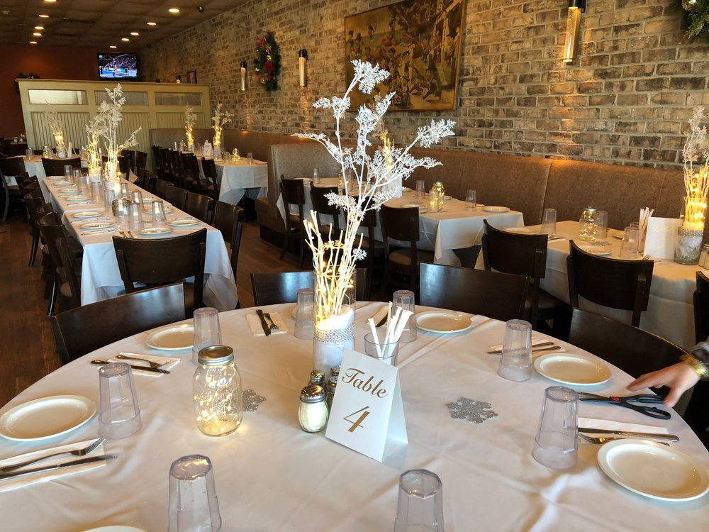 With two rooms available for parties from 20-120 Ciro's can help you create a memorable event for any occasion.
