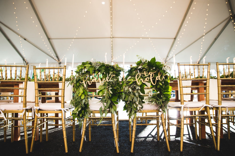 floral nyc style wedding
