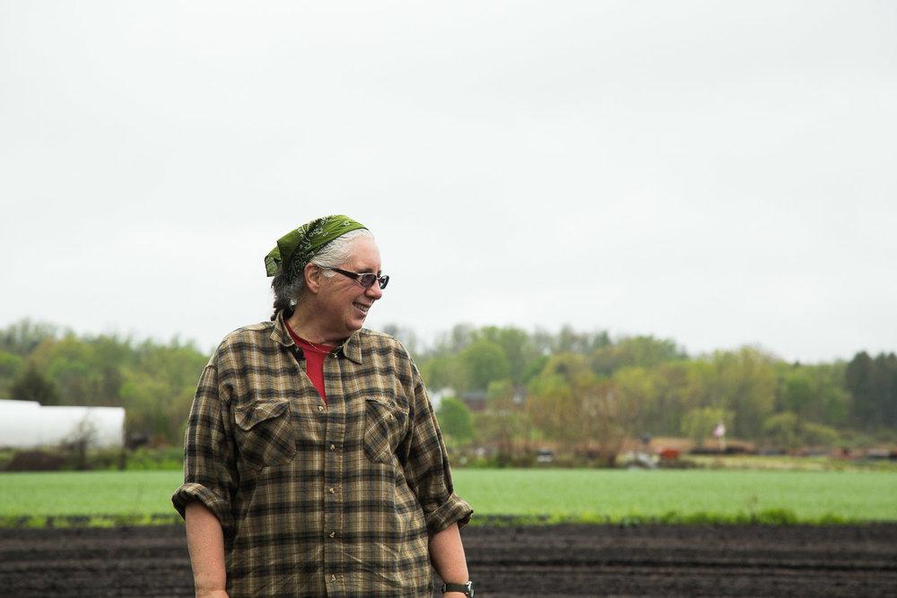 farmer Cheryl Rogowski