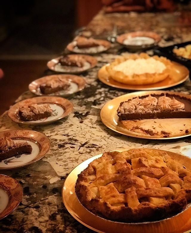 🎶I only have PIES for you🎶 #applecheddarbottompie #pumpkingingersnapcinnamonmeringuepie #lemonchesswhiskeywhippie #charliepies