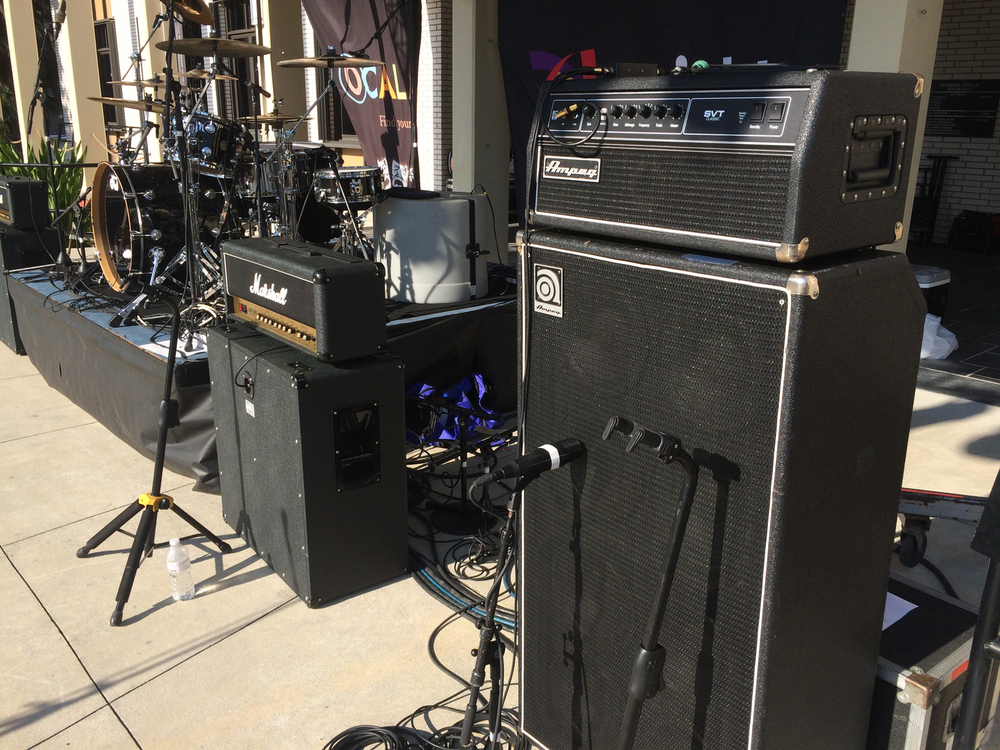 Ampeg Bass Ampfilication :: Orlando Backline Rental Services