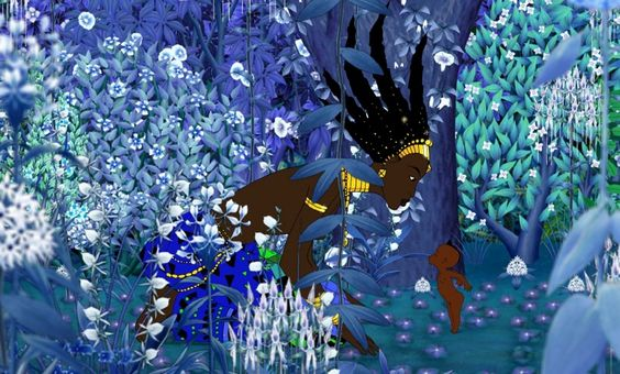Kirikou and the Sorceress, 1998. A look into West African folk tales.