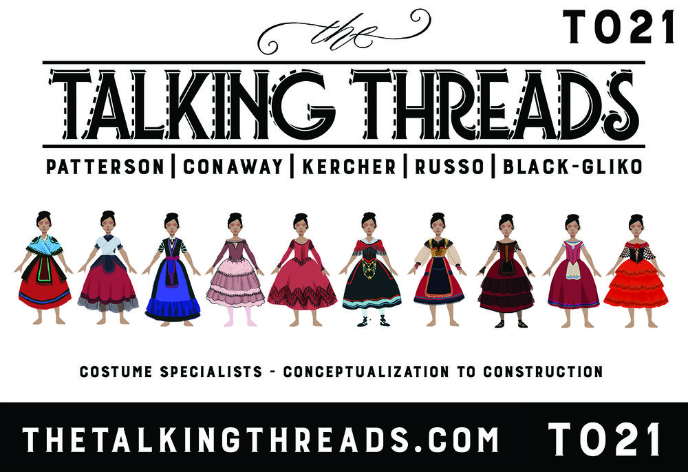 Go see Jessie Kate at Table T021 representing The Talking Threads!