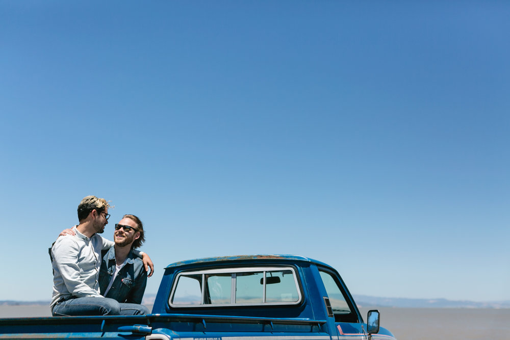 Us, Little Blue and California Landscape. Photo By Andria Lo.