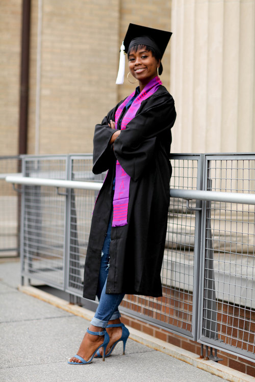 Dina - Ohio State Graduation