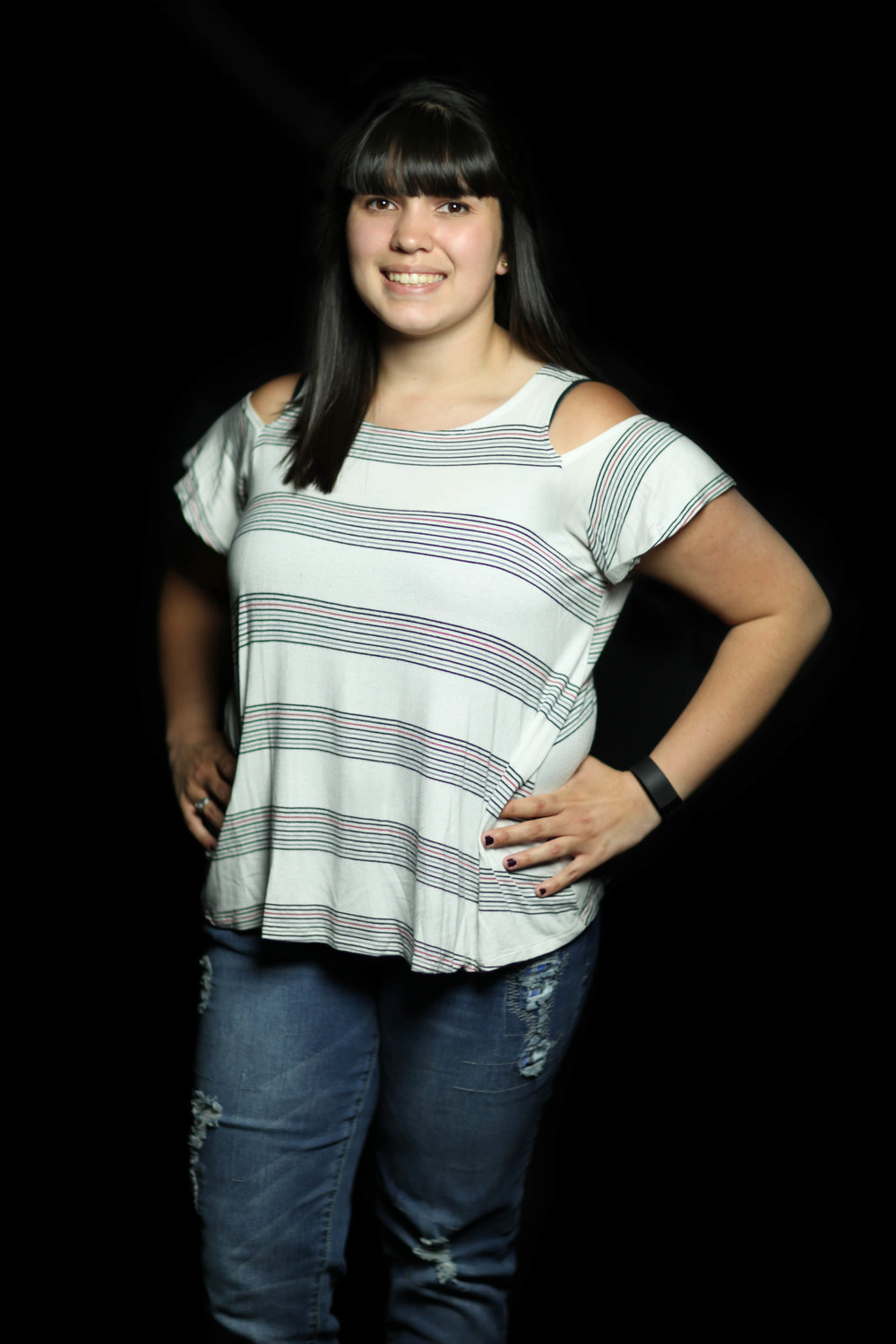 """Maekenzie's father is a third generation Mexican-American. While she grew identifying as both Mexican and American, she has often felt disconnected from that side of her culture and has only recently begun to figure out what being biracial means to her. She didn't grow up speaking Spanish, but has since taken classes in high school and college.    """"And, now I'm just starting to figure out what it means to be biracial and have that whole idea of White and Hispanic…    It's different because there is this idea of what your race is compared to culture and I think those are two different things. So, my culture is very much European...We don't do Day of the Dead, we don't do like anything like that, or what you would consider maybe the mainstream, Hispanic culture. So that side of it, I know nothing about, and I think I can easily tell somebody that, but race-wise, ancestors wise, I can be like, I am half this [Hispanic]. In a way, when I talk to people...it's hard for me to be like """"but I am"""", because I can't back it up like facts.      And, like I said, coming from the community I did, it was more, """"prove yourself"""", so beside my genetics, I can't really prove that there is much else there [culturally].... I [also] think that's one of things that comes with saying your biracial. As soon as you say you are biracial, you are expected to know both cultures. """""""""""