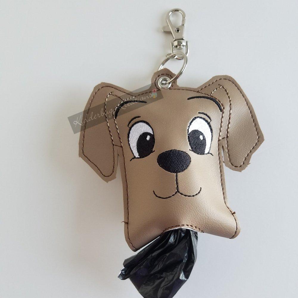 Doggie poo bag holder