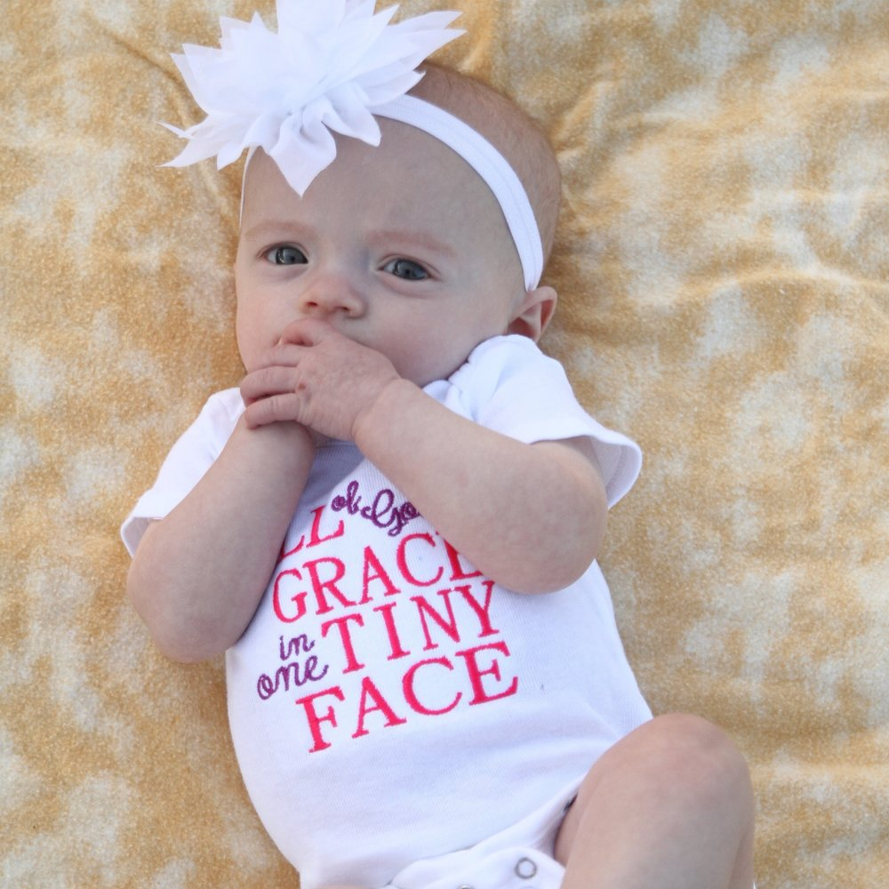 Infant one piece outfit