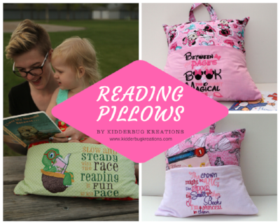 Reading Pillows for Girls