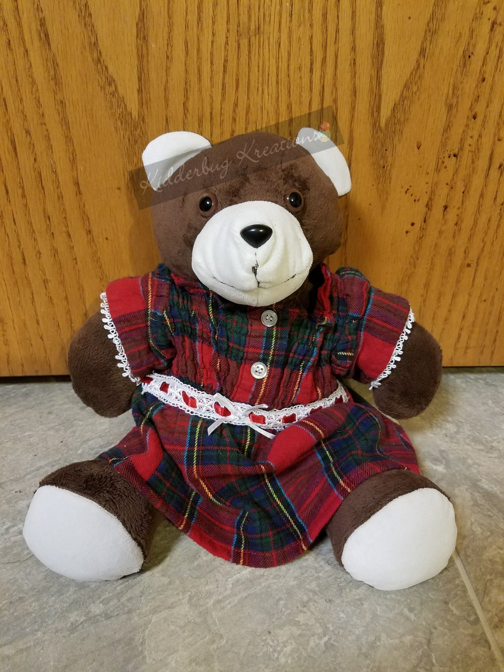 Memorial Bear from the clothing of a loved one