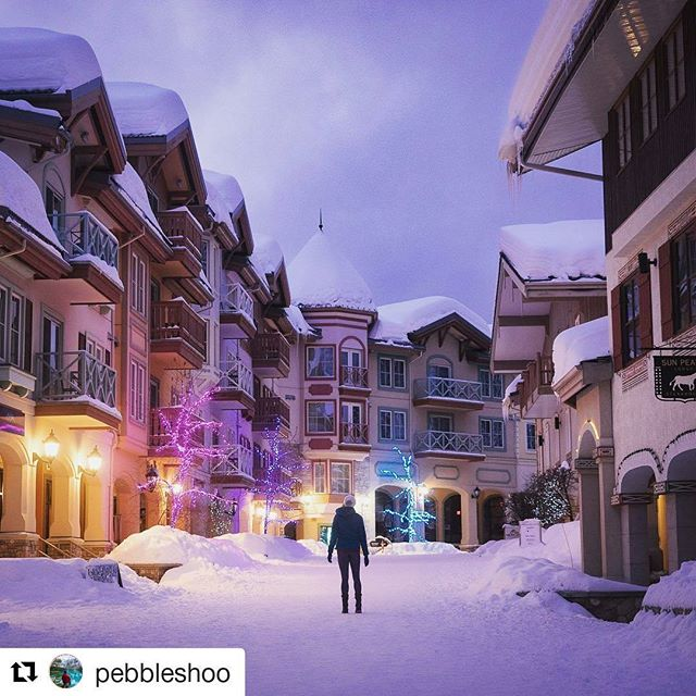 The charming Sun Peaks Resort in BC through the eyes of @pebbleshoo  #sunpeaks360 , #explorebc, @sunpeaksresort #glocally_brand_ambassador  #Repost @pebbleshoo (@get_repost) ・・・ Skication with Spring at Sun Peaks Resort. The little town situated at the base of the ski lifts here is amazing! We had to get up for a stroll to see it during the early morning light. ⠀ .⠀ The streets get groomed also in winter so you can ski right off the runs to the coffee shop and then right back on again! ⠀ .⠀ @sunpeaksresort #sunpeaks360 #explorebc #ad