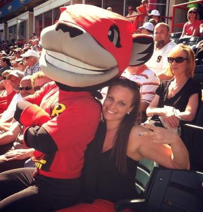Lindsey enjoyed cheering on the Richmond Flying Squirrels during her time in the River City.