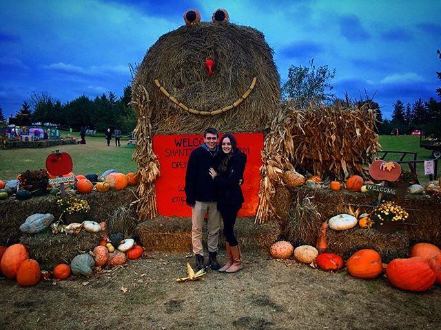 Pumpkin patch with my pumpkin ❤️