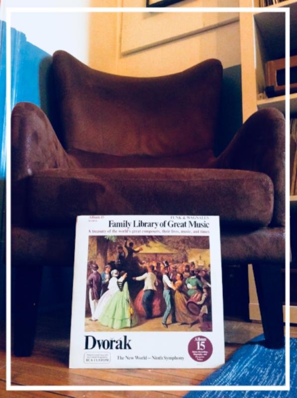 antonin dvorak; the new world -- 9th symphony; funk and wagnalls