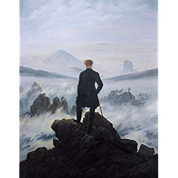 Wanderer Above the Sea of Fog—Caspar David Friedrich