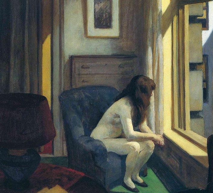 '11 A.M' by Edward Hopper