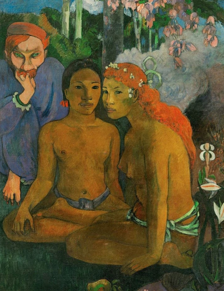 "'Contes Barbares"" Paul Gauguin—1902—Oil on canvas"