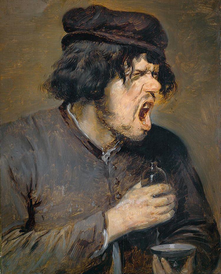 adriaen brouwer,  The Bitter Draught ,  c.1636-1639