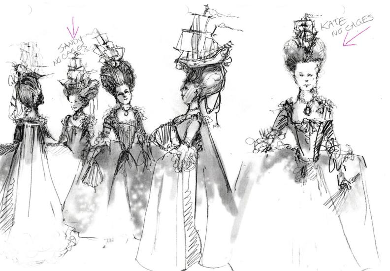 sketches by Debra Hansen