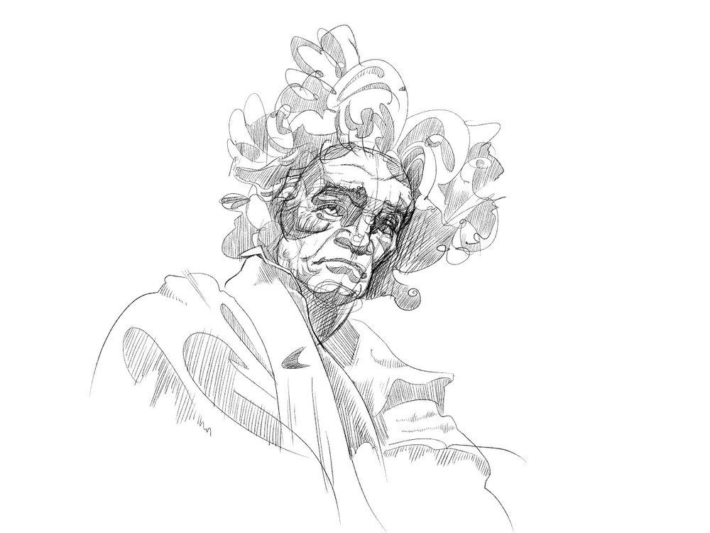 'Beethoven' by Jeremy Lewis @jplewisandsons