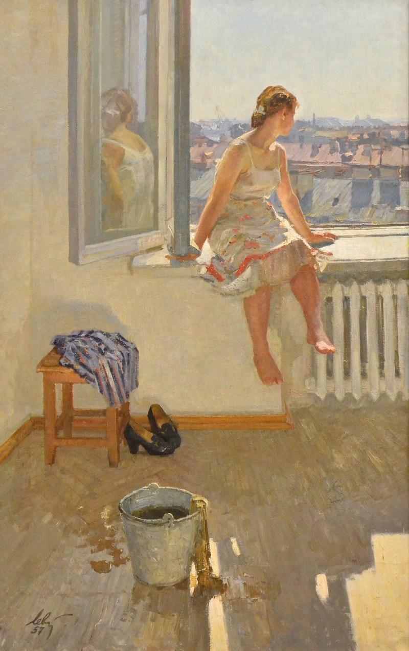 'Warm Day' by Anatoli Levitin, 1957