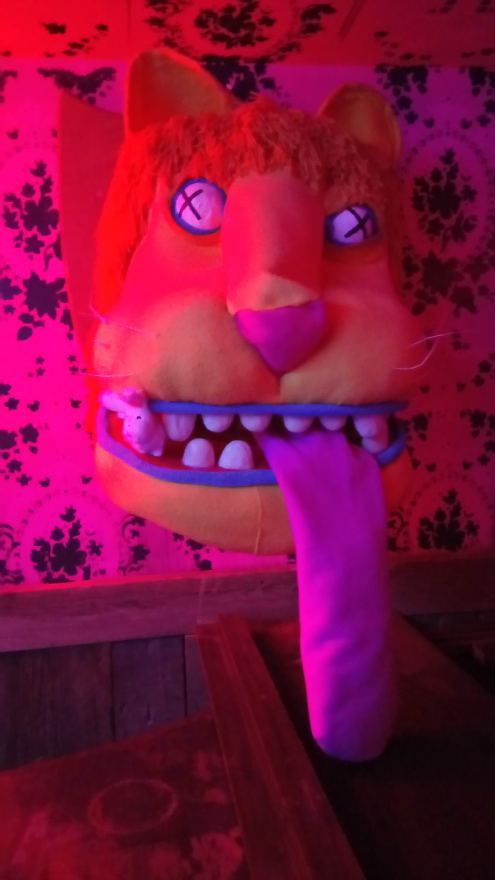 I met a strange lion with a missing tooth. So, I tried to help him out by becoming a tooth. It felt right in this place, that you could become anything. Anything at all.