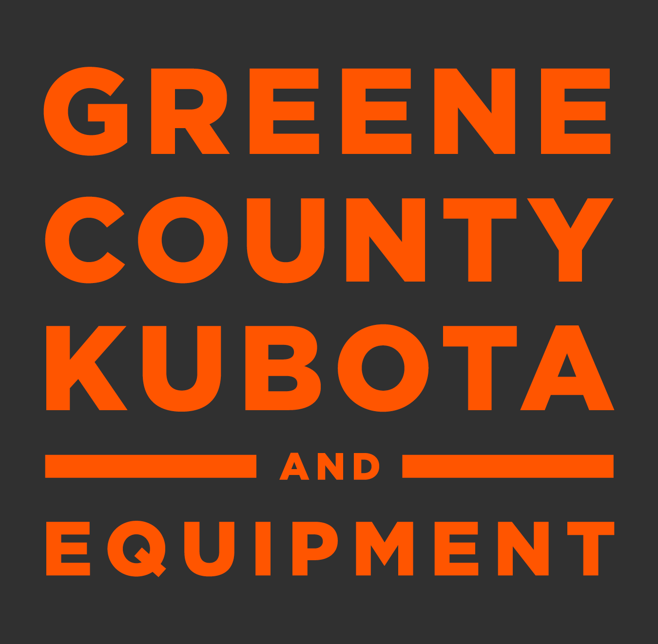 Greene County Kubota