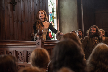 "Lotte Verbeek in Outlander, ""The Devil's Mark"" 