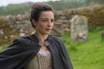 "Laura Donnelly as Jenny in Outlander, ""Lallybroch"" 