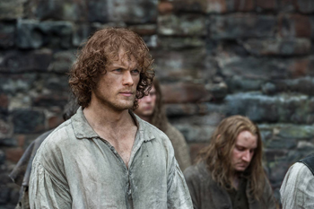 "Sam Heughan in Outlander, ""Wentworth Prison"" 