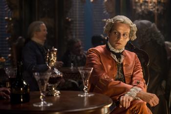 Charles Stuart in Outlander | © Starz