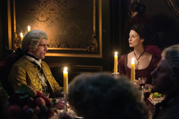 St. Germain and Claire in Outlander | © Starz