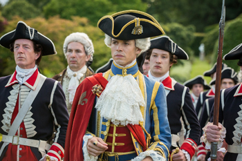 King Louis XV in Outlander | © Starz