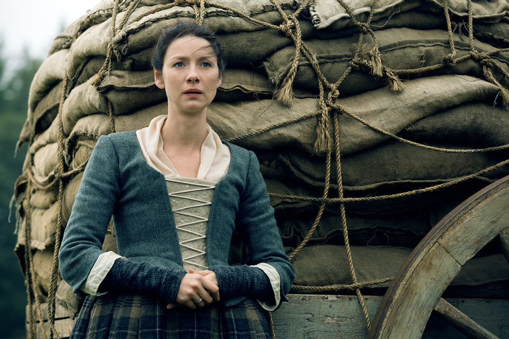 Claire in Outlander | © Starz
