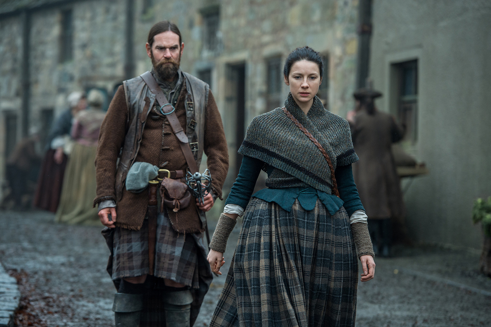 Murtagh and Claire in Outlander | © Starz
